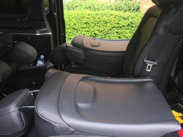 Versatile Internal Configuration in a Silver Services Limousine